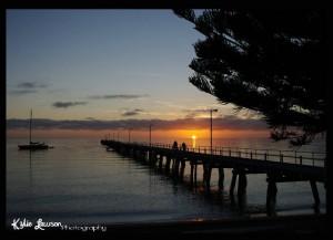 Sunrise in Tumby Bay